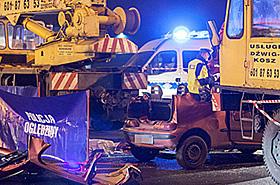 Tragedia w Poznaniu: lina ucięła kobiecie głowę