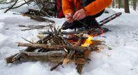 Jak rozpalić ogień za pomocą lodu?