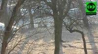 Diamentowy pył widoczny w Polsce