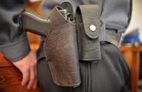Tragedia w Nowym Mie�cie Lubawskim. Policjant zastrzeli� si� w komisariacie