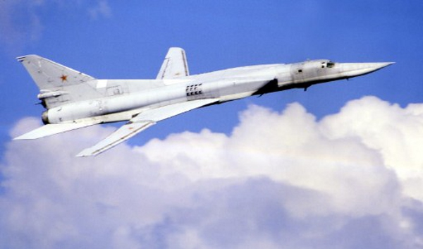 Bombowiec Tu-22