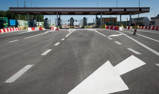 Dro�szy przejazd autostrad� A2