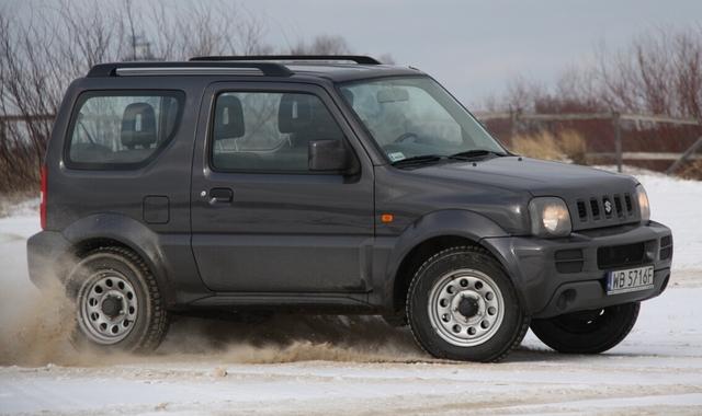 Suzuki Jimny 1.3 Comfort: Waleczny jak samuraj
