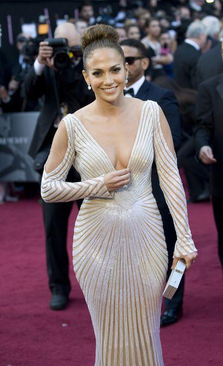 Wpadka Na Oscarach Wypadaj Cy Sutek Jennifer Lopez