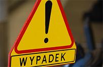 Wypadek w Opatowie. 4 osoby trafi�y do szpitala, w tym dziecko