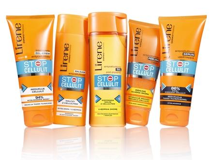 Powiedz STOP cellulitowi zlinią kosmetyków antycellulitowych Lirene