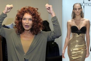 Ewa Minge na tygodniu mody w Moskwie!