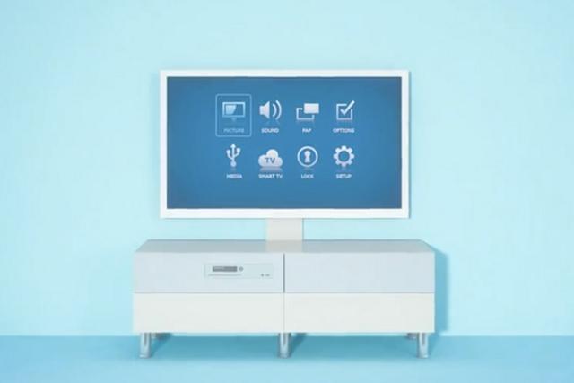 Uppleva - pierwszy telewizor z IKEI