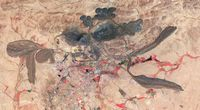 NASA sfotografowa�o toksyczne jeziora