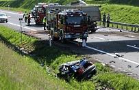 Cztery osoby zgin�y w wypadku pod Biskupcem