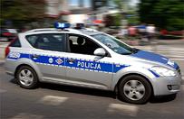 Uciekający przed policją motocyklista zginął w wypadku w Białobrzegach