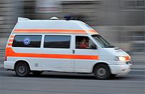 Zdemolowana karetka - agresja wobec ratowników ze Śląska