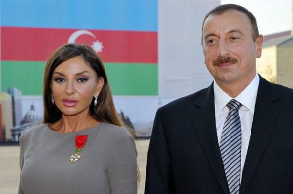 Znalezione obrazy dla zapytania prezydent azerbejdżanu