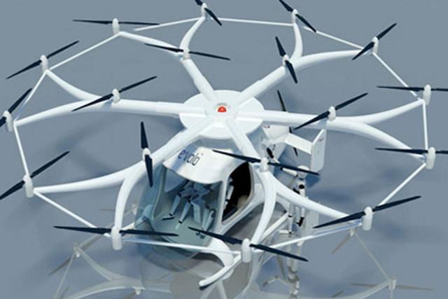 Volocopter - maszyna, kt�ra zrewolucjonizuje transport