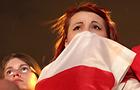 Przejmująca cisza w stołecznej strefie po porażce z Czechami