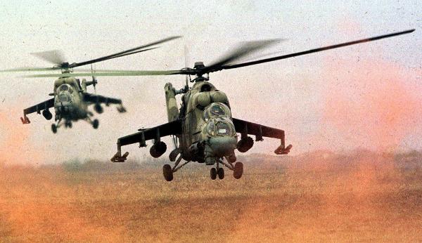 Rosyjskie śmigłowce bojowe