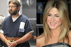 Uwierzył, że zagra w filmie z Aniston - trafił za kratki!