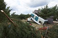 Odbudowa zniszczonych domostw w Pomorskiem mo�e trwa� latami