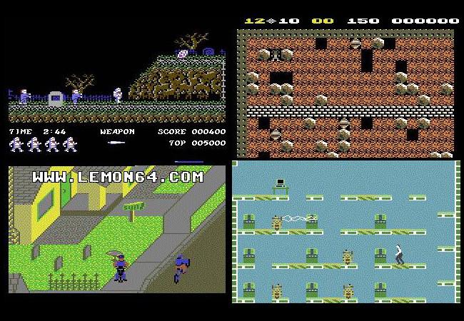 Najlepsze gry z  Commodore 64, w kt�re mo�esz zagra� w sieci