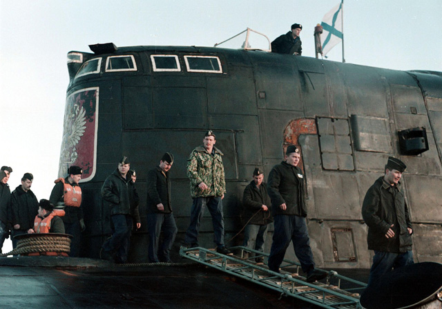 Katastrofa rosyjskiego okrętu podwodnego