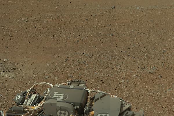 Zdj�cie wysokiej rozdzielczo�ci z �azika Curiosity