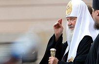 Patriarcha Cyryl na cmentarzu �o�nierzy radzieckich