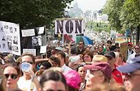 Kolejna manifestacja w Belgii przeciwko uwolnieniu by�ej �ony Dutroux