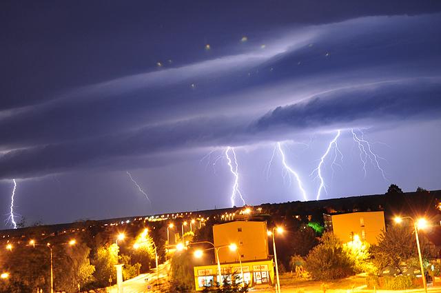 Przerażające zjawisko na polskim niebie - zdjęcia