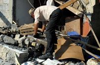 Silne burze z gradem przesz�y nad Podkarpaciem - mieszka�cy szacuj� straty