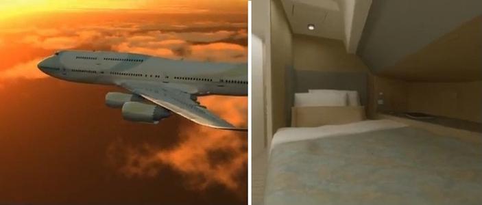 Nowy Boeing 747 Aeroloft z sypialnią na pokładzie