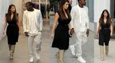 Kim Kardashian w butach  Givenchy