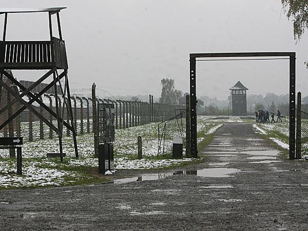 Dawny ob�z zag�ady KL Auschwitz-Birkenau