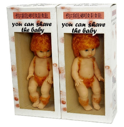 Wydepiluj lalkę