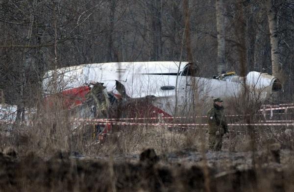 Rozbity rz�dowy Tu-154M (zdj�cie archiwalne)