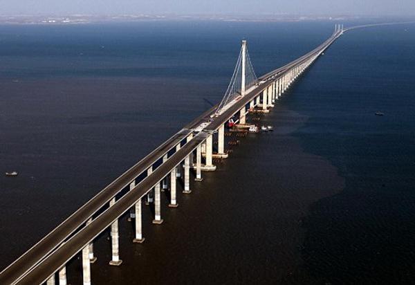 Najdłuższy most świata – Wielki Most Danyang–Kunshan