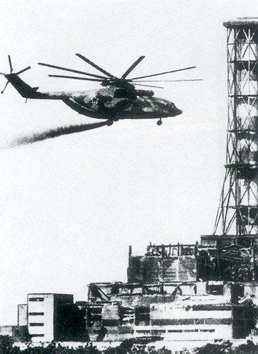 Mi-26 w Czarnobylu