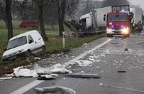 Tragiczny wypadek w Zambrzycach Kr�lach. Trzy osoby nie �yj�
