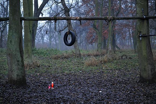 Miejsce samob�jstwa w Koszewku