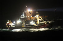 Katastrofa na Morzu P�nocnym - wstrzymano poszukiwania