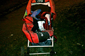 Pijak potrącił na pasach rodzinę z wózkiem!