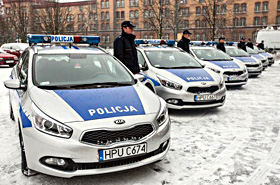 Nowe radiowozy dla policji - ładne?