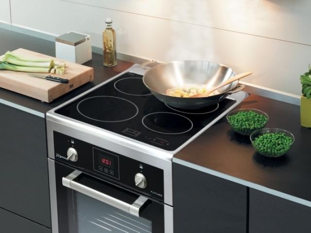 Mastercook KI 2850 X FUT  kuchnia indukcyjna o szerokości 50 cm  Sprzęt RTV   -> Kuchnia Indukcyjno Gazowa Do Zabudowy