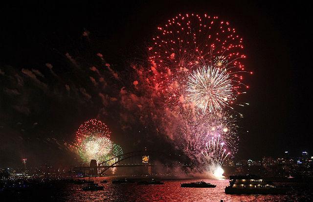 Tam już przywitali nowy rok - zobacz zdjęcia