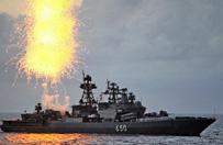 Rosyjska flotylla okr�t�w wojennych zmierza ku granicom NATO