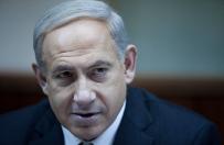 """Benjamin Netanjahu: nie mo�na negocjowa� z Hamasem, czyli wrogiem, """"kt�ry zamierza nas zabi�""""."""