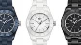 Trend na czasie? Ceramiczne zegarki Lacoste