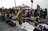 Prom uderzy� w nabrze�e w Nowym Jorku. Dziesi�tki rannych