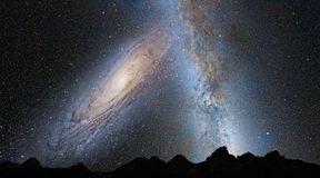 Zderzenie galaktyki M31 z Drogą Mleczną