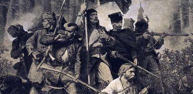 Reduta powstańców z 1863 i prehistoryczne ...