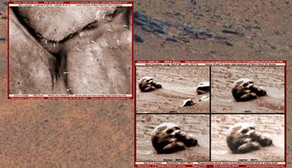 Niezwyk�e znalezisko na Marsie!